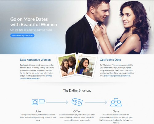 Newly launched dating site